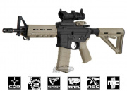 Magpul Full Metal MOE CQB AEG Airsoft Gun (2-tone/Black Receiver)