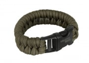 "**(Please Re-use) Mil-Spec Cords Rattle Snake Survival Bracelet (OD / Size 5"")"