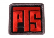 PTS Patch ( Black / Red )
