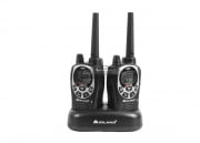 Midland Radio FRS/GMRS 50 Chl./36 Mile Ear/Mic, Batteries & Charger (Pair)