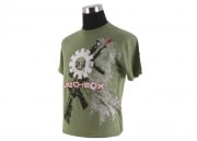 Mechbox Clothing Mercenary T-Shirt (Green/XL)