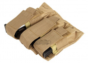 NC Star Triple Pistol Mag Pouch ( Tan )