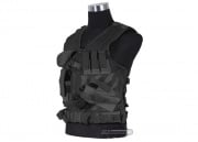NcSTAR Crossdraw Tactical Vest (Black)