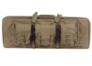 "Condor Outdoor MOLLE 36"" Deluxe Double Gun Bag w/ Flap ( Tan )"