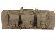 "Condor Outdoor MOLLE 36"" Deluxe Double Rifle Gun Bag w/ Flap (Tan)"