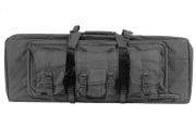"Condor Outdoor MOLLE 36"" Deluxe Double Rifle Gun Bag w/ Flap (Black)"