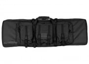 "Condor Outdoor MOLLE 42"" Deluxe Double Rifle Gun Bag w/ Flap (Black)"