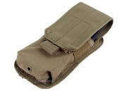 Condor Outdoor M4 Buttstock Magazine Pouch ( Tan )