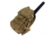 Condor Outdoor MOLLE Handheld Radio Pouch (Tan)