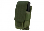 Condor Outdoor MOLLE Single M14 Magazine Pouch (OD Green)