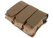 Condor Outdoor MOLLE Triple M4/M16 Magazine Pouch (Tan)