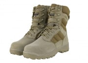 "Condor Elite 8"" Tactical Boots w/ YKK Side Zipper (Tan/Size 10.5)"
