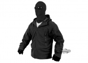 Condor Outdoor Sierra Hooded Micro Fleece Jacket (Black/Small)