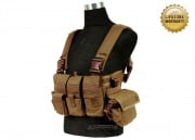Pantac USA 1000D Cordura Active Shooter Chest Rig (Coyote Tactical Vest )