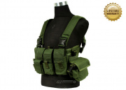 Pantac USA 1000D Cordura Active Shooter Chest Rig (OD Green)