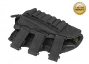 Pantac 1000D Cordura Stock Cheek Pad w/ Ammo Compartment ( Black )