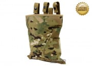 Pantac 1000D Cordura Belt Mounted Magazine Drop Pouch ( Multicam )