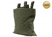 Pantac USA 1000D Cordura Belt Mounted Magazine Drop Pouch (Ranger Green)