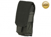 Pantac USA 1000D Cordura Molle M4/M16 Single Magazine Pouch (Ranger Green)