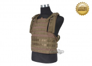 Pantac USA 1000D Cordura Molle  MOD Tactical Vest  (Medium/Coyote)