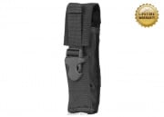 Pantac USA 1000D Cordura Molle Silencer/Airsoft Barrel Extension Pouch (Black)