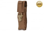 Pantac USA 1000D Cordura Molle Silencer/Airsoft Barrel Extension Pouch (Coyote)