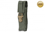 Pantac USA 1000D Cordura Molle Silencer/Airsoft Barrel Extension Pouch (Ranger Green)