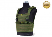 Pantac USA 1000D Cordura Molle MPS Chest Rig (OD/Tactical Vest )