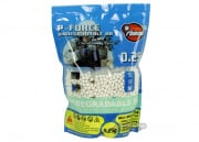P Force Biodegradable .25g 4000 ct. BBs (White)