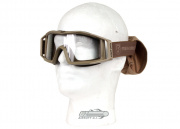 Revision Wolfspider Goggle w/ Clear Lens (Tan)