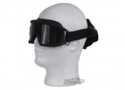 Revision Desert Locust Fan Goggle Asian Essential Kit ( Black w/ Smoke Lens )