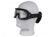 Revision Desert Locust Fan Goggle Basic Kit (Black w/ Clear Lens)
