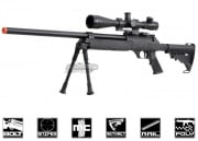 Well Full Metal M187A Bolt Action Sniper Rifle Airsoft Gun ( BLK )