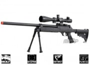 Well Full Metal ASR MB06 SR-2 Bolt Action Sniper Rifle Airsoft Gun (Black)