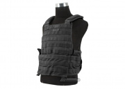 SOCOM Gear Tactical Mesh Plate Carrier (Black/Tactical Vest)