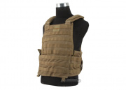 SOCOM Gear Tactical Mesh Plate Carrier (Tan/Tactical Vest)