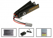 SOCOM Gear 11.1V 1300mah LiPo TriPanel Battery Package ( Battery , Charger & Liposack )