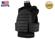 Specter Modular Plate Carrier (L/Black/MPC1/Tactical Vest)