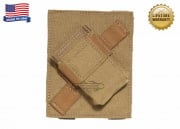 Specter MOLLE/PALS Compatible PFC PriMAC Magazine Pouch Angled Right For Left Handed Shooters (Coyote Tan)