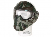 Save Phace OSC (Woodland) Full Face Tactical Mask
