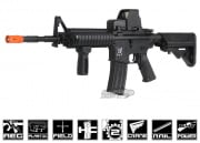 SRC M4 RIS AEG Airsoft Gun (Black/Battery & Charger Package)