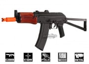 SRC Full Metal/Real Wood AK-74U GBB Rifle Airsoft Gun