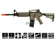SRC M4A1 AEG Airsoft Gun (TAN/Battery & Charger Package)