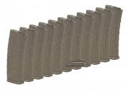 Magpul PTS 75rd M4/M16 Mid Capacity AEG Magazine (10 Pack/E-Mag/DE/STAR Green Label)