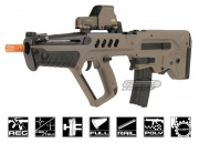 S&T TAR-21 Metal Gearbox Version AEG Airsoft Gun ( Dark Earth )