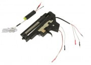 JG M16 M130 Complete AEG Gearbox w/ MOSFET ( Rear Wired )