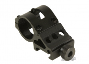"Tufforce 1"" Weaver Side Offset Ring Mount (Black)"