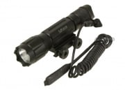 Tufforce 6-Volt Tactical Flashlight w/ Weaver Mount ( 201 )