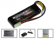 Tenergy 11.1V 1600mah LiPo Mini Battery Package (Battery, Charger & Liposack)