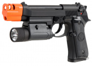 (Discontinued) TSD Tactical M9X Tac Blowback Pistol Airsoft Gun